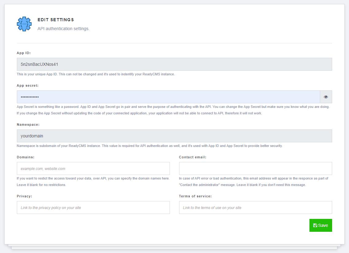 Managing API access-0