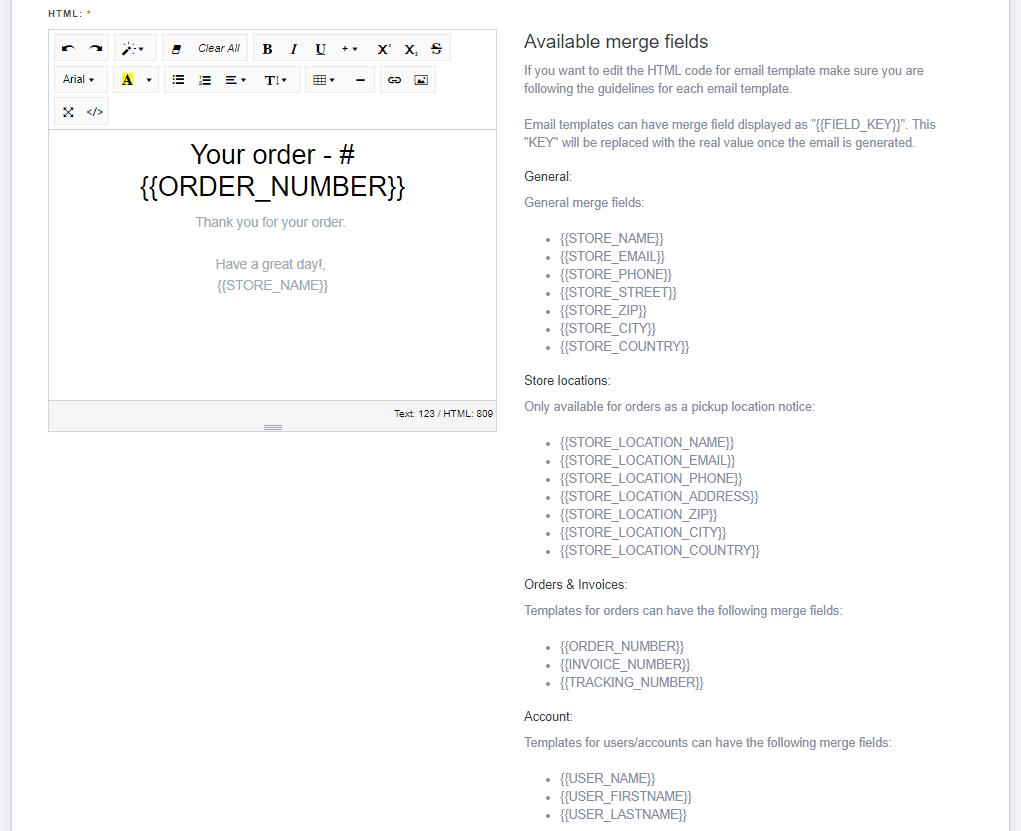 Customizing email templates-2