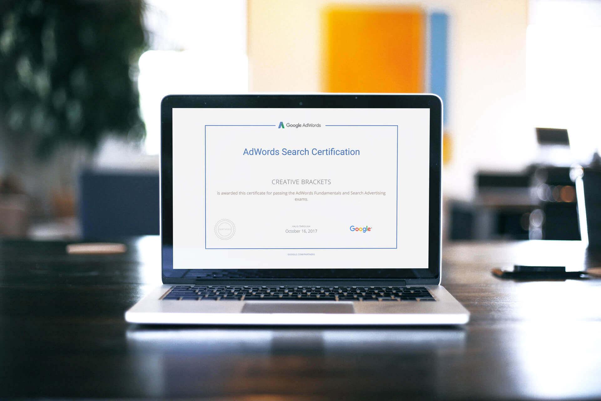 Postali smo sertifikovani AdWords profesionalci!