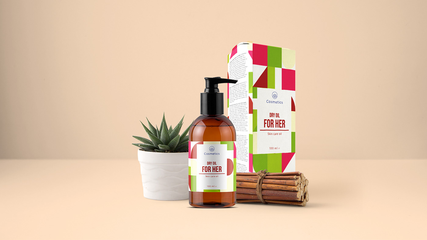 Dry Oil - Cosmetics Packaging-0