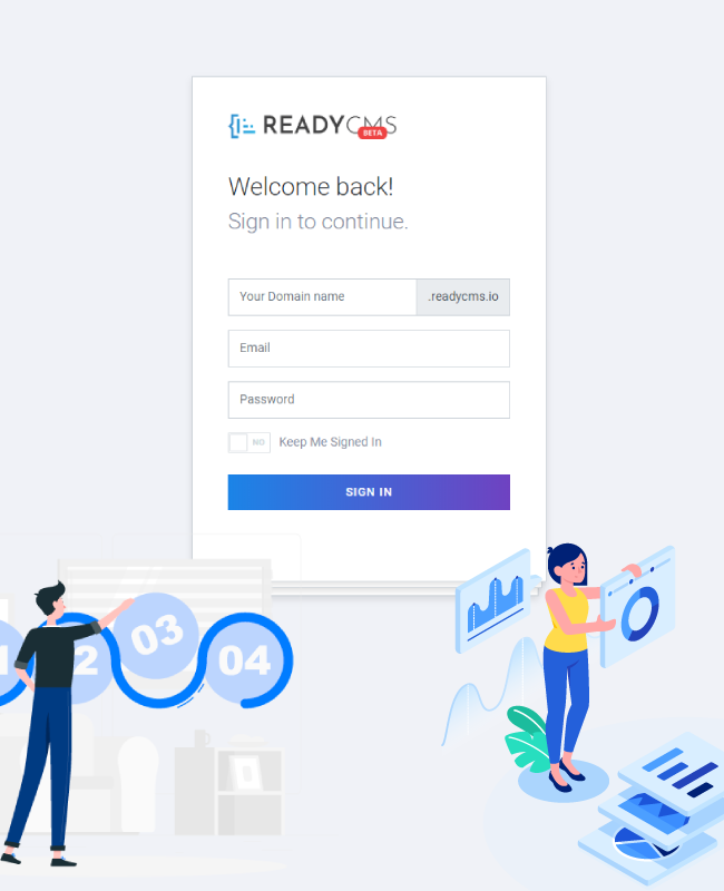 ReadyCMS | Our Product